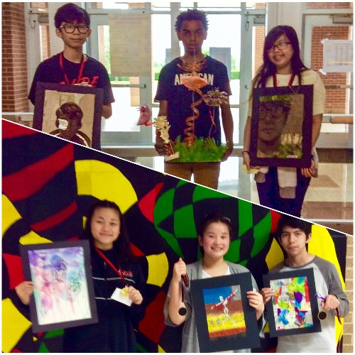 District Art Show Coble Winners