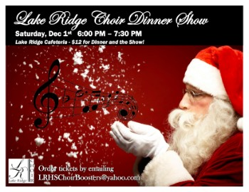 Lake Ridge Choir Dinner Show